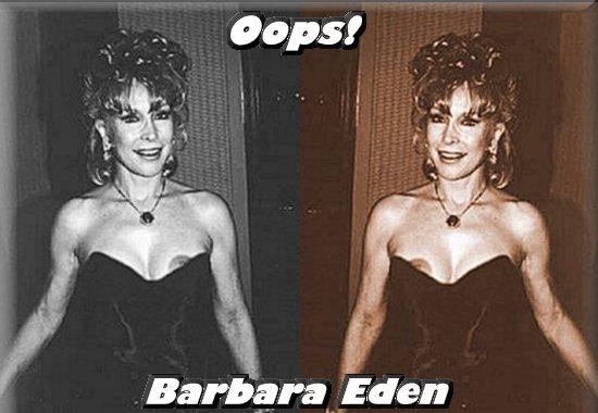 Consider, that Barbara eden topless